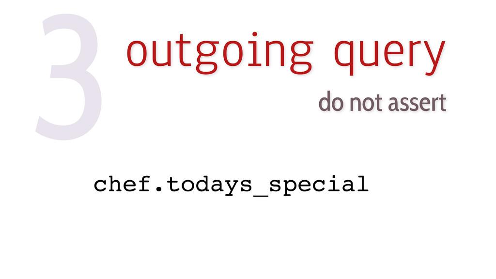 3outgoing query do not assert chef.todays_speci...