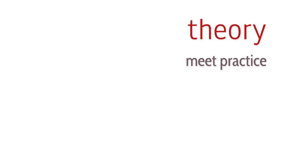 meet practice theory