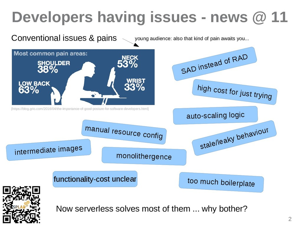 2 Developers having issues - news @ 11 Conventi...