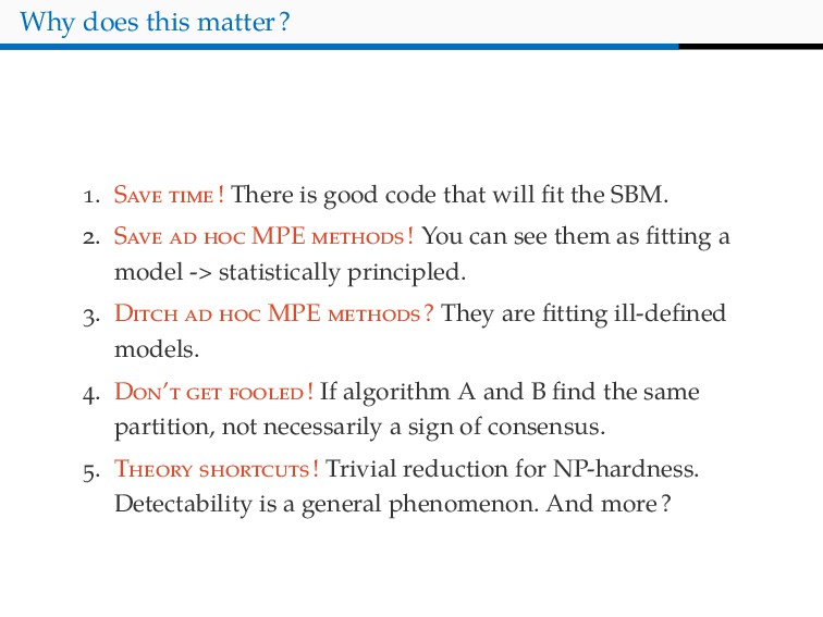 Why does this matter? . S ! There is good code ...