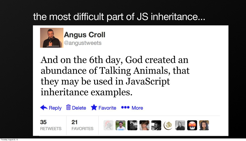 the most difficult part of JS inheritance... An...