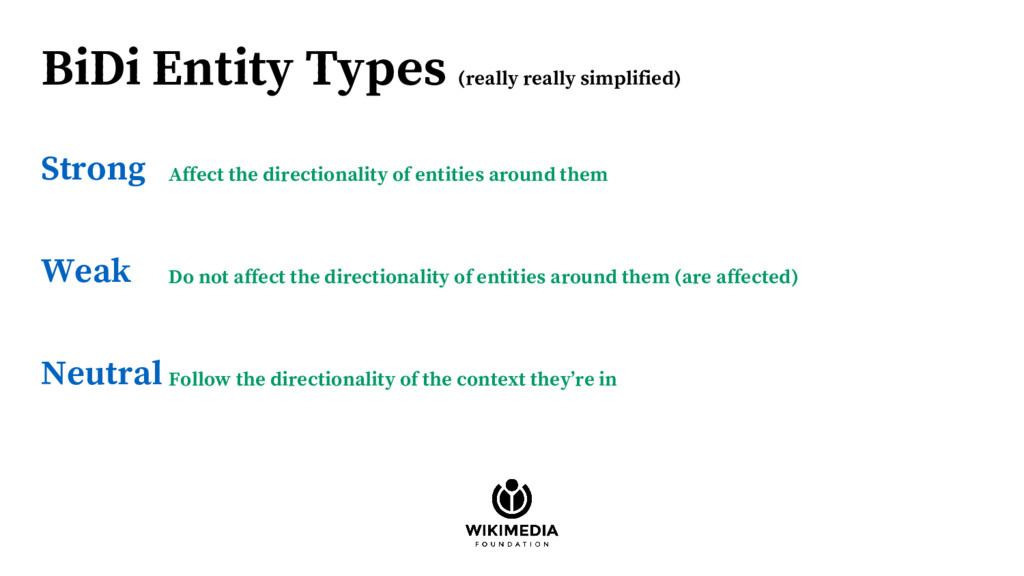 BiDi Entity Types (really really simplified) St...