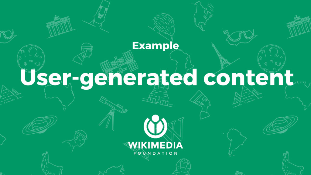 Example User-generated content