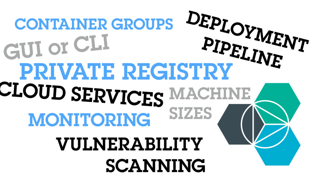 PRIVATE REGISTRY GUI or CLI CLOUD SERVICES DEPL...