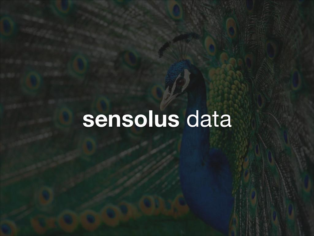 sensolus data