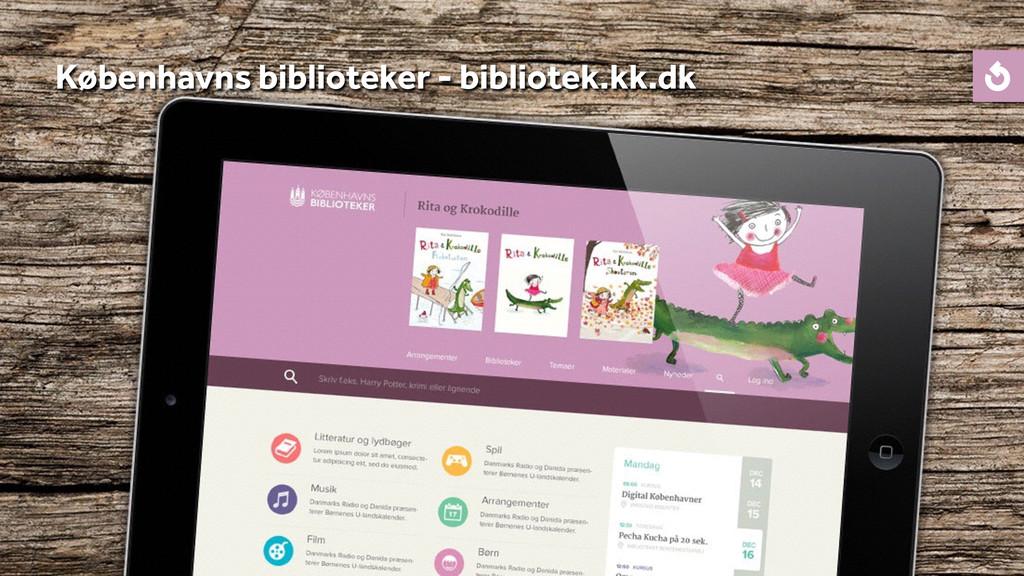 Københavns biblioteker - bibliotek.kk.dk