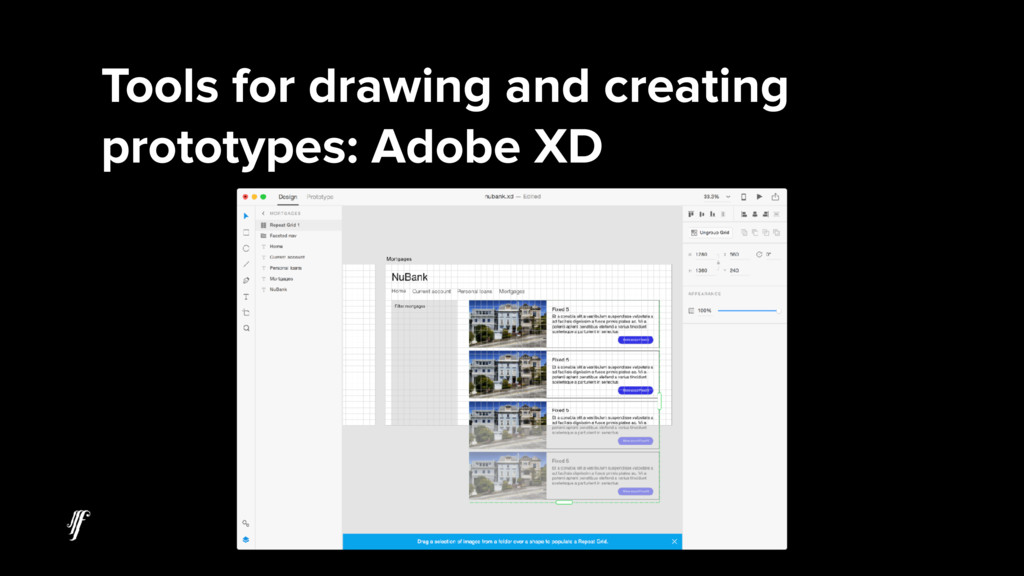 Tools for drawing and creating prototypes: Adob...