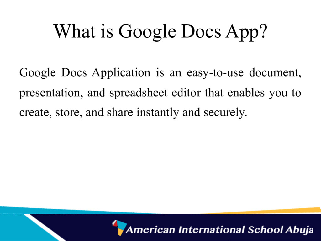 What is Google Docs App? Google Docs Applicatio...