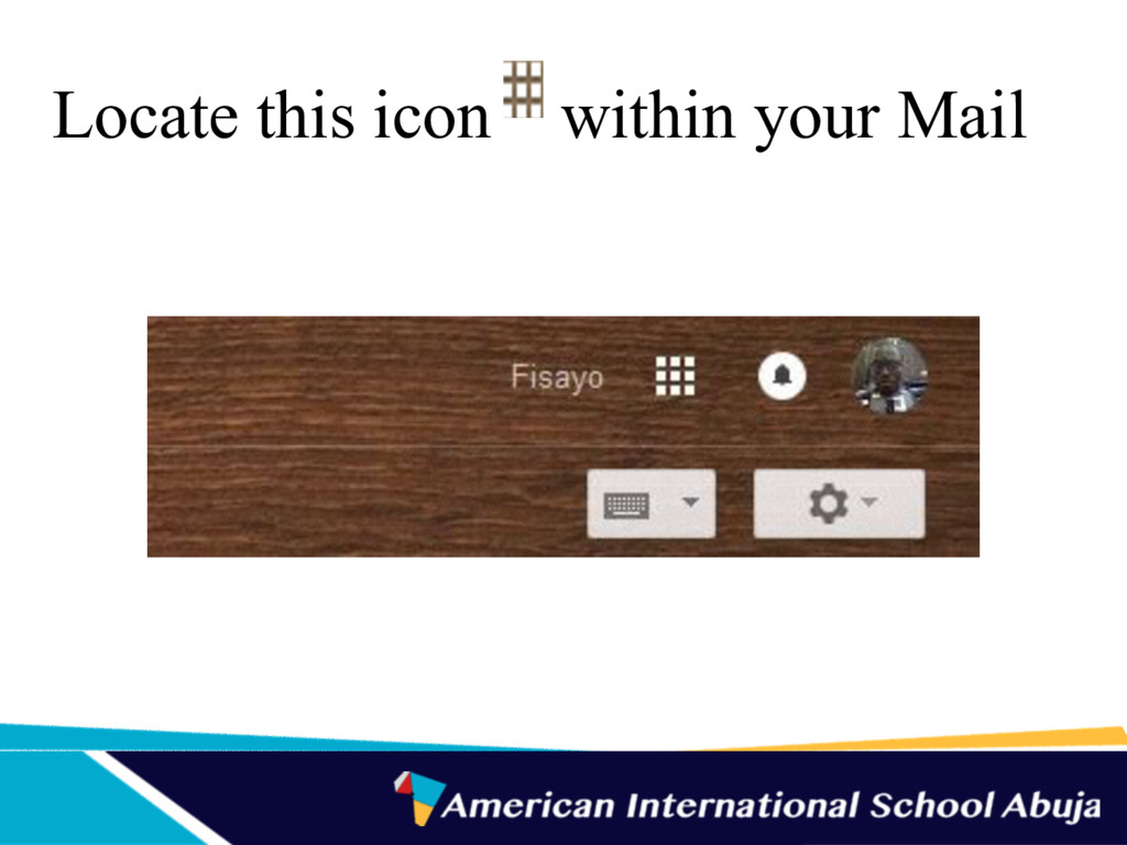 Locate this icon within your Mail