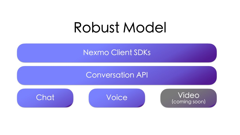 Robust Model Chat Voice Video  (coming soon) N...