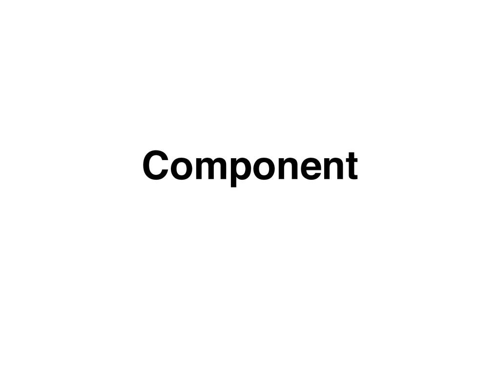 Component