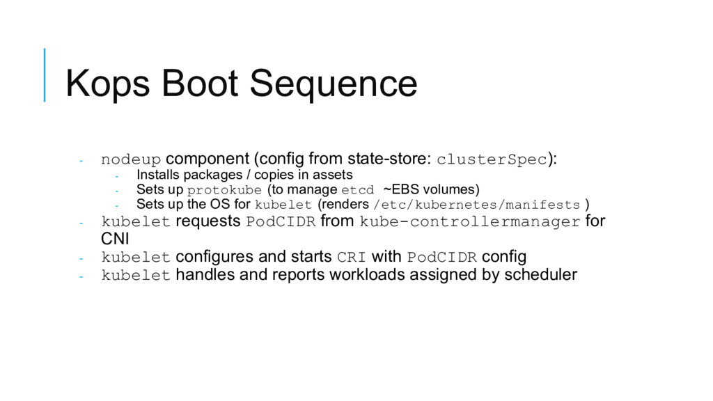 Kops Boot Sequence - nodeup component (config f...
