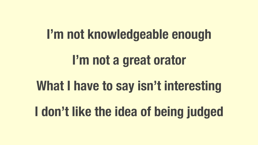 I'm not knowledgeable enough I'm not a great or...