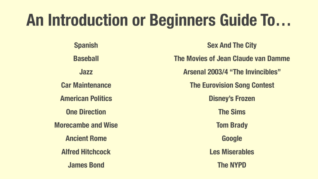 An Introduction or Beginners Guide To… Spanish ...