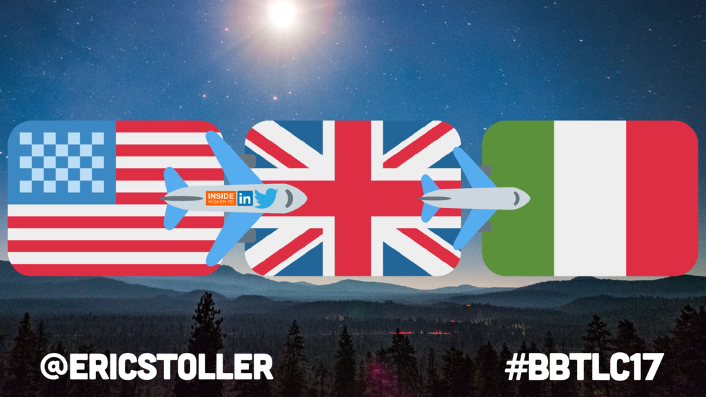 #BbTLC17 @ericstoller