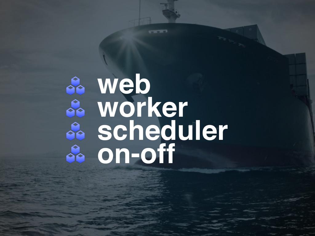 web! worker! scheduler! on-off