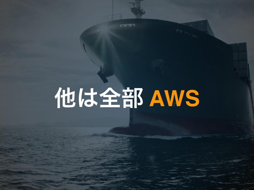 ଞશ෦ AWS