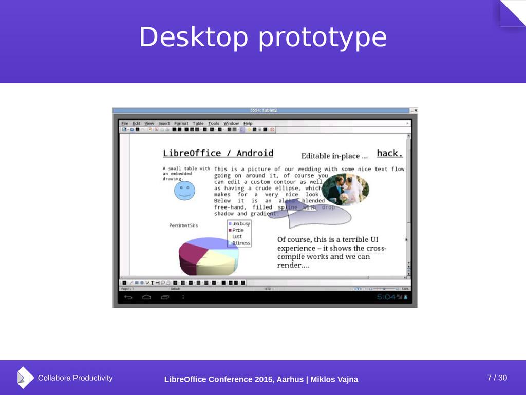 7 / 30 LibreOffice Conference 2015, Aarhus | Mi...