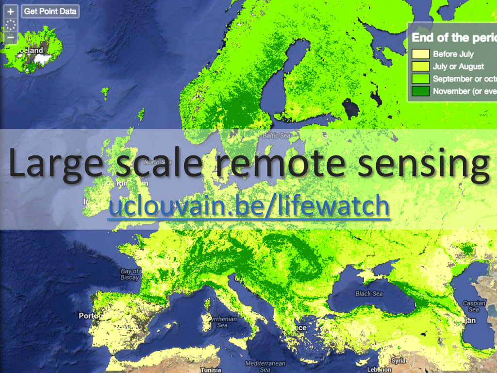 Large scale remote sensing  uclouva...