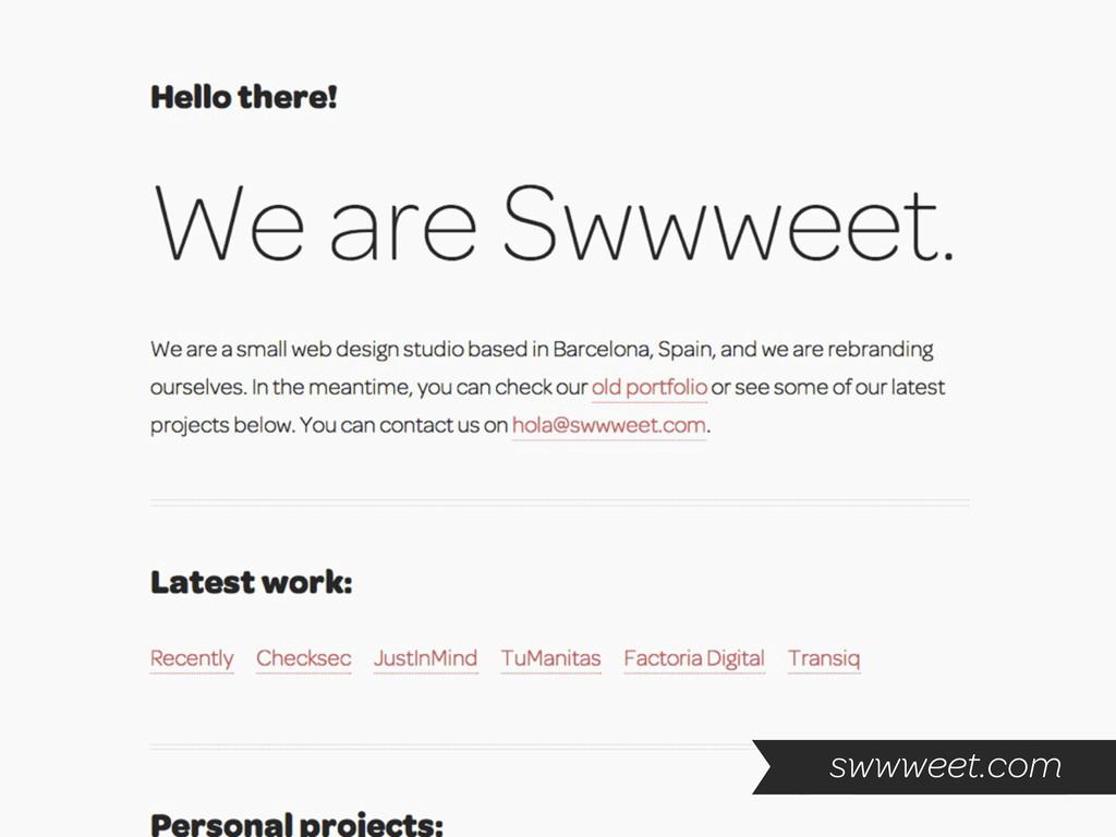 swwweet.com