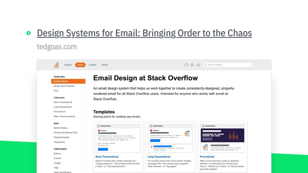 tedgoas.com Design Systems for Email: Bringing ...