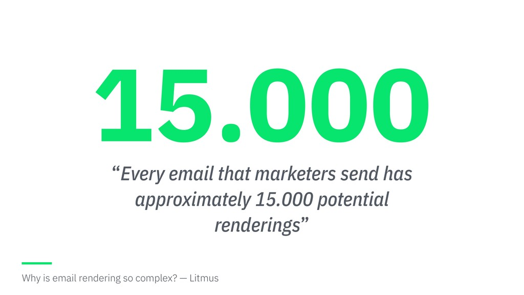 """""""Every email that marketers send has approximat..."""
