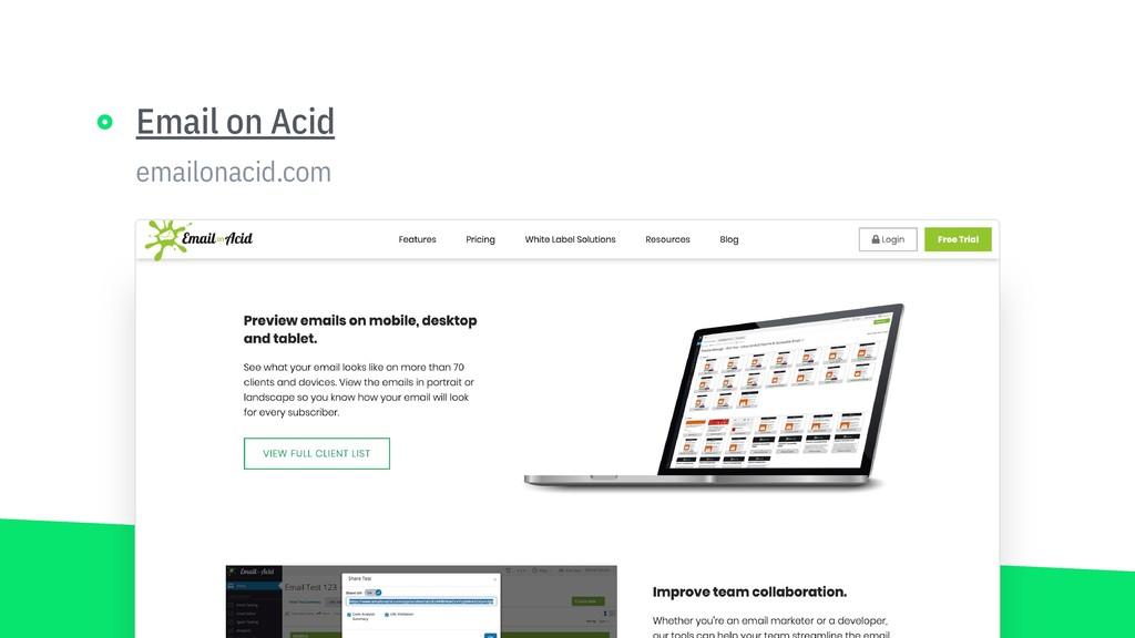 emailonacid.com Email on Acid https://www.email...