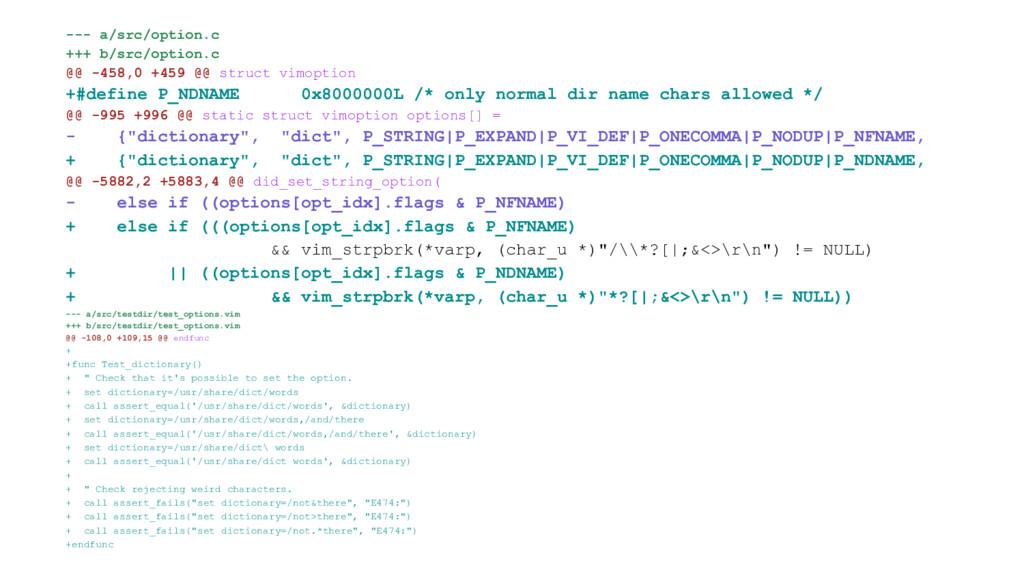 --- a/src/option.c +++ b/src/option.c @@ -458,0...