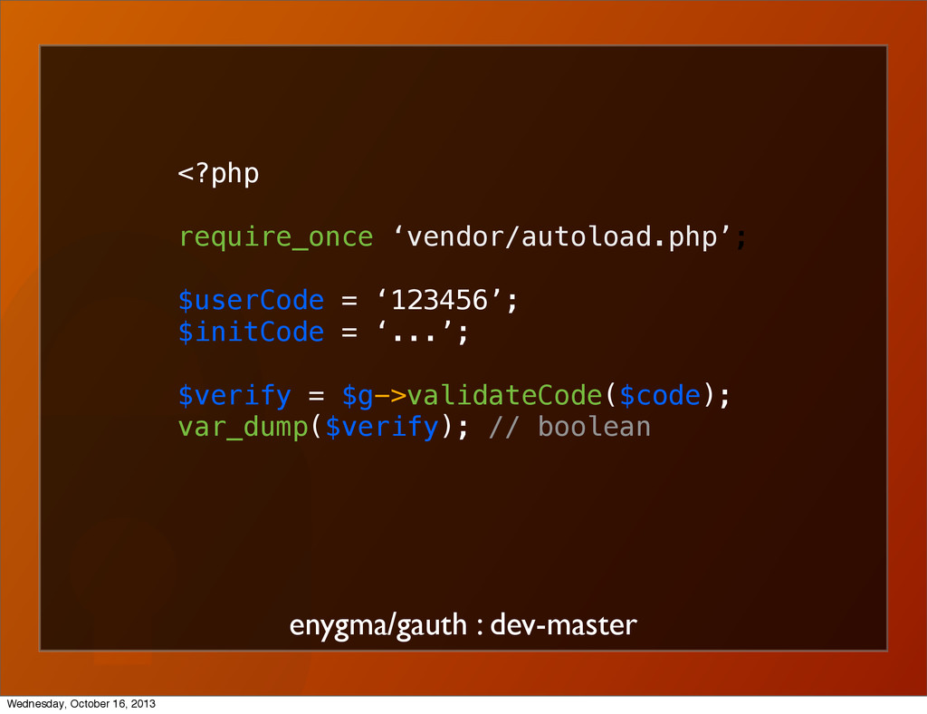 enygma/gauth : dev-master <?php require_once 'v...