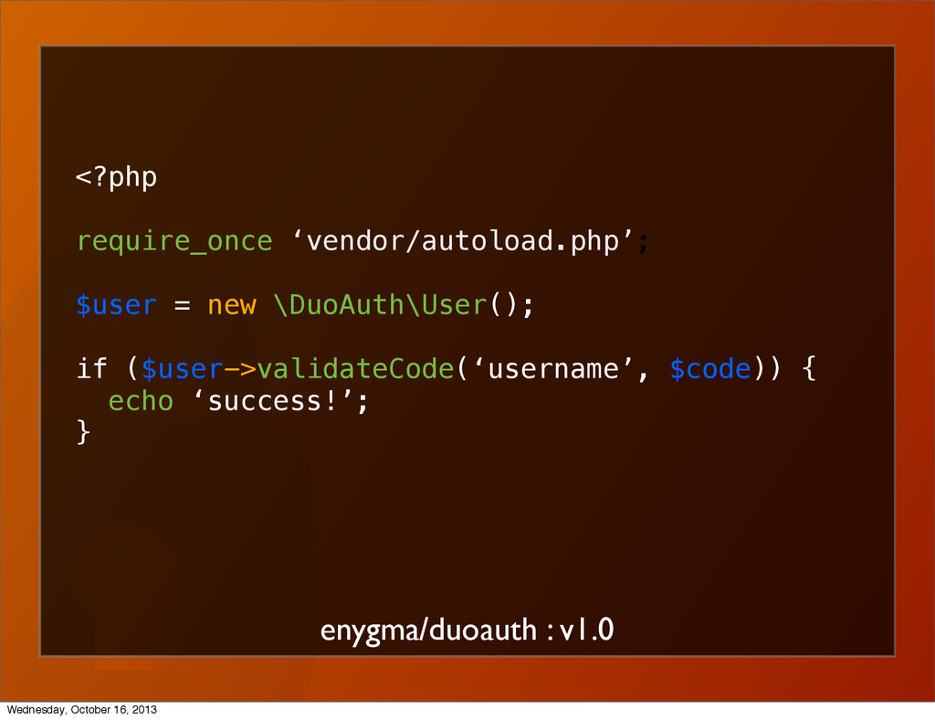 enygma/duoauth : v1.0 <?php require_once 'vendo...
