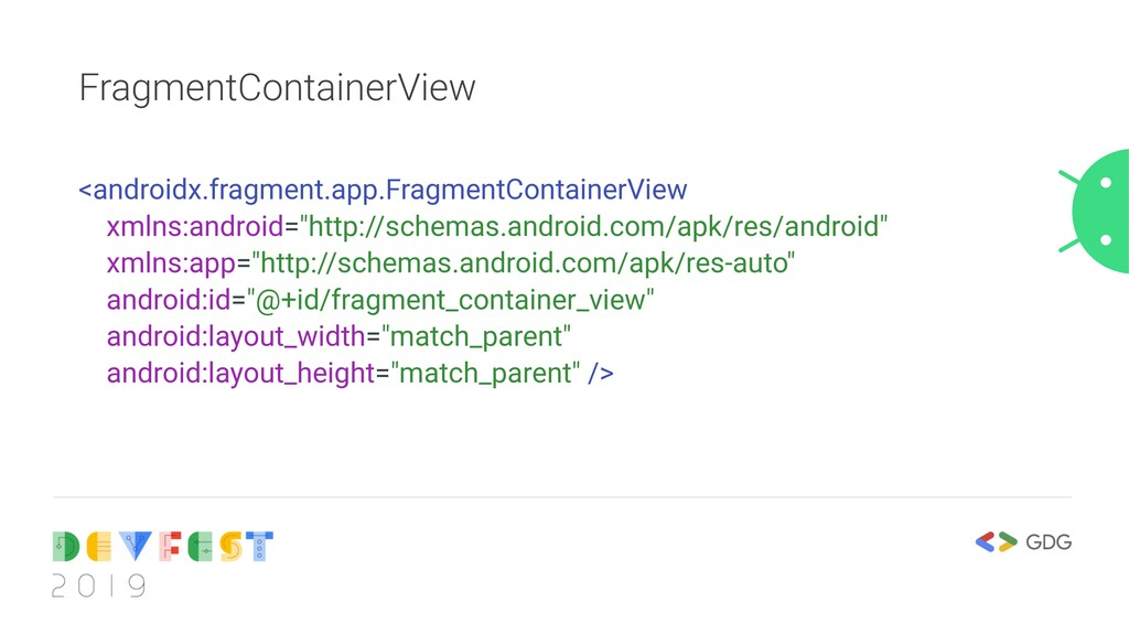 FragmentContainerView <androidx.fragment.app.Fr...
