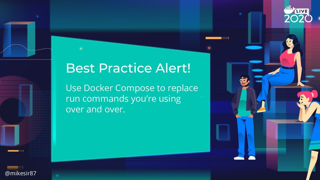 Use Docker Compose to replace run commands you'...