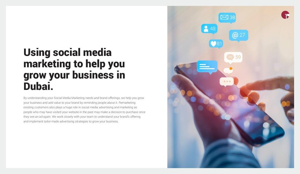 Using social media marketing to help you grow y...