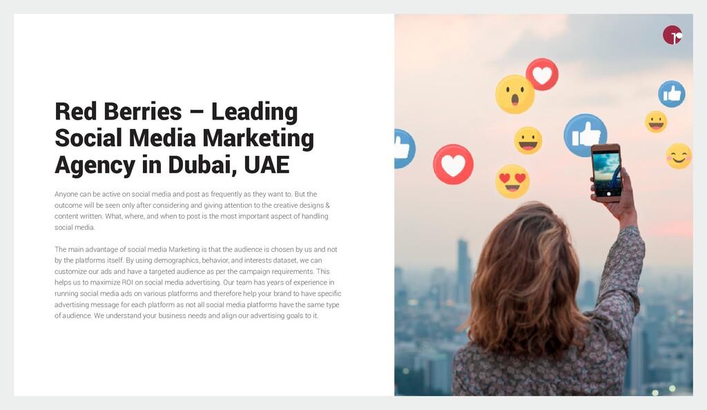 Red Berries – Leading Social Media Marketing Ag...