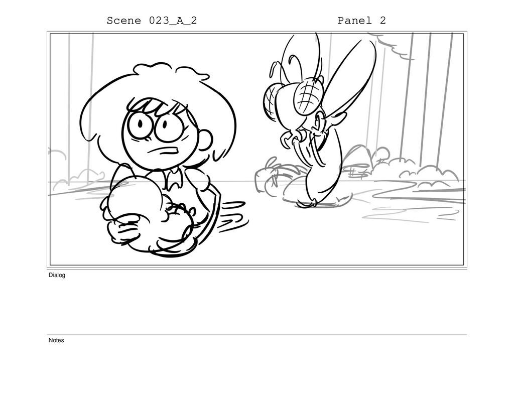 Scene 023_A_2 Panel 2 Dialog Notes