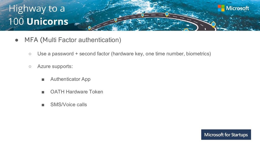 Kerala ● MFA (Multi Factor authentication) ○ Us...