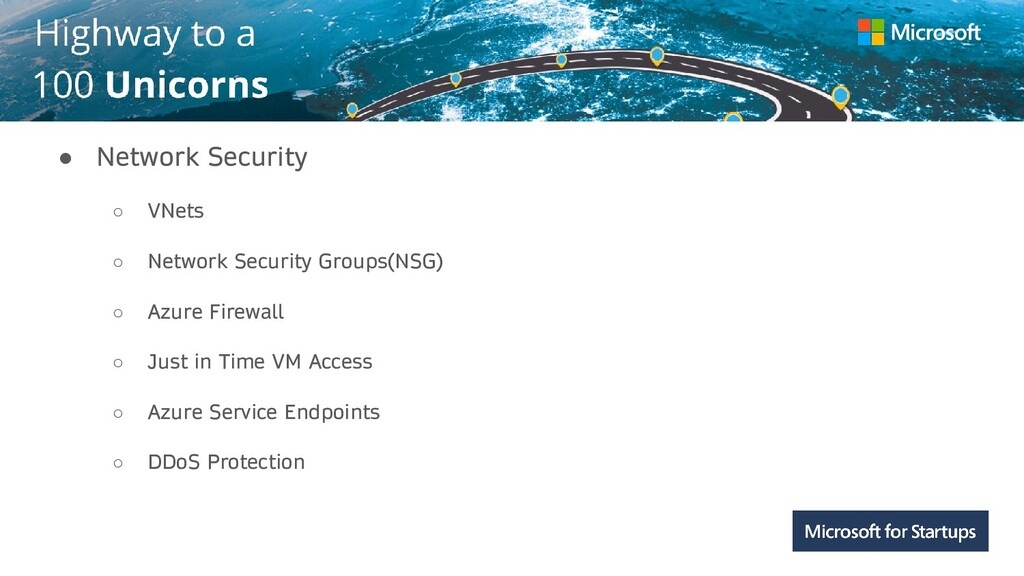 Kerala ● Network Security ○ VNets ○ Network Sec...