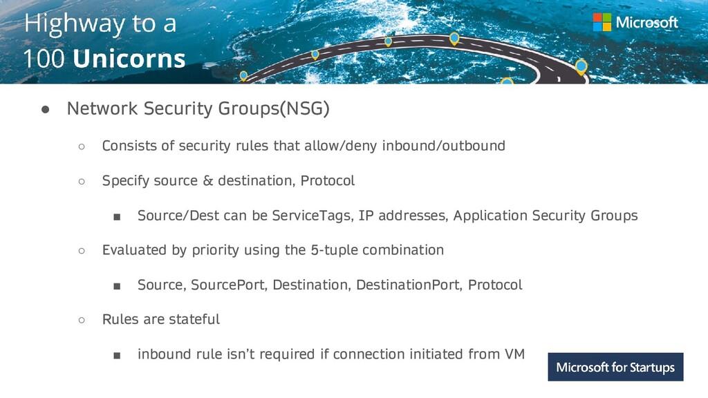 Kerala ● Network Security Groups(NSG) ○ Consist...