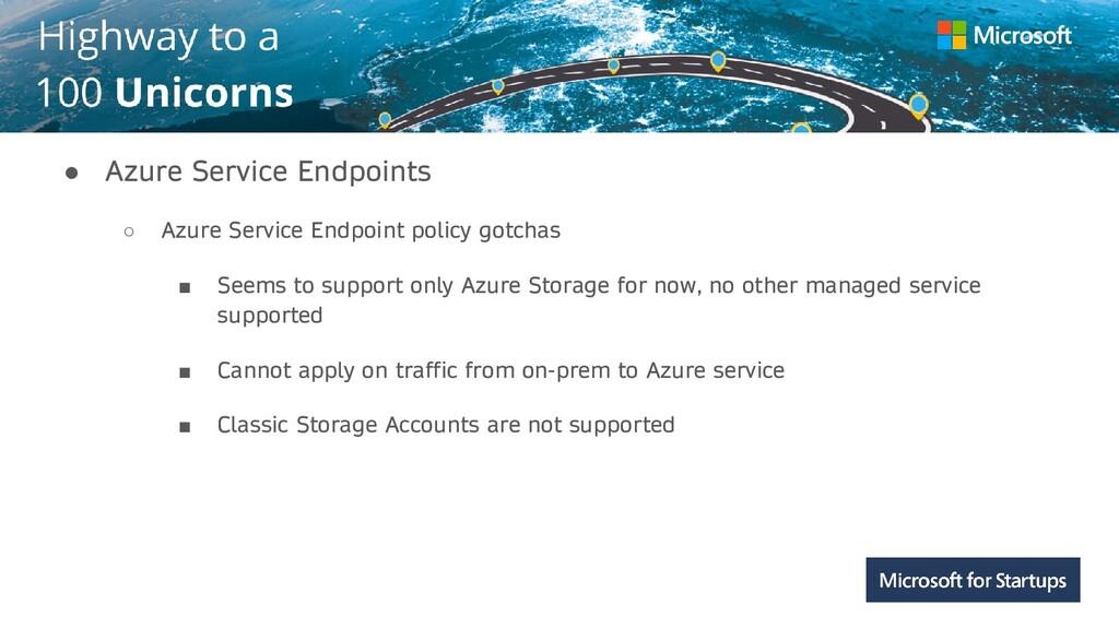 Kerala ● Azure Service Endpoints ○ Azure Servic...