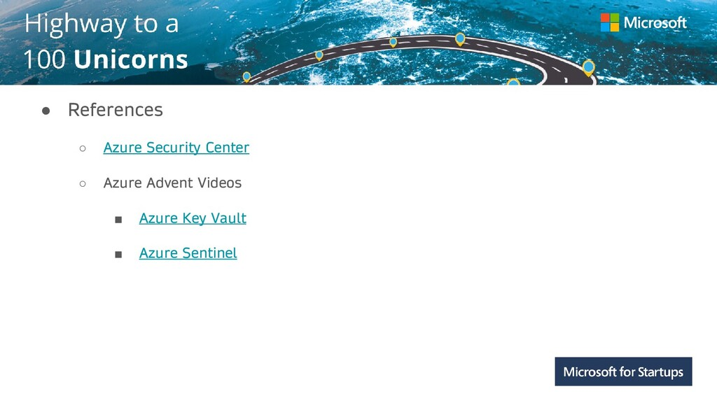 Kerala ● References ○ Azure Security Center ○ A...