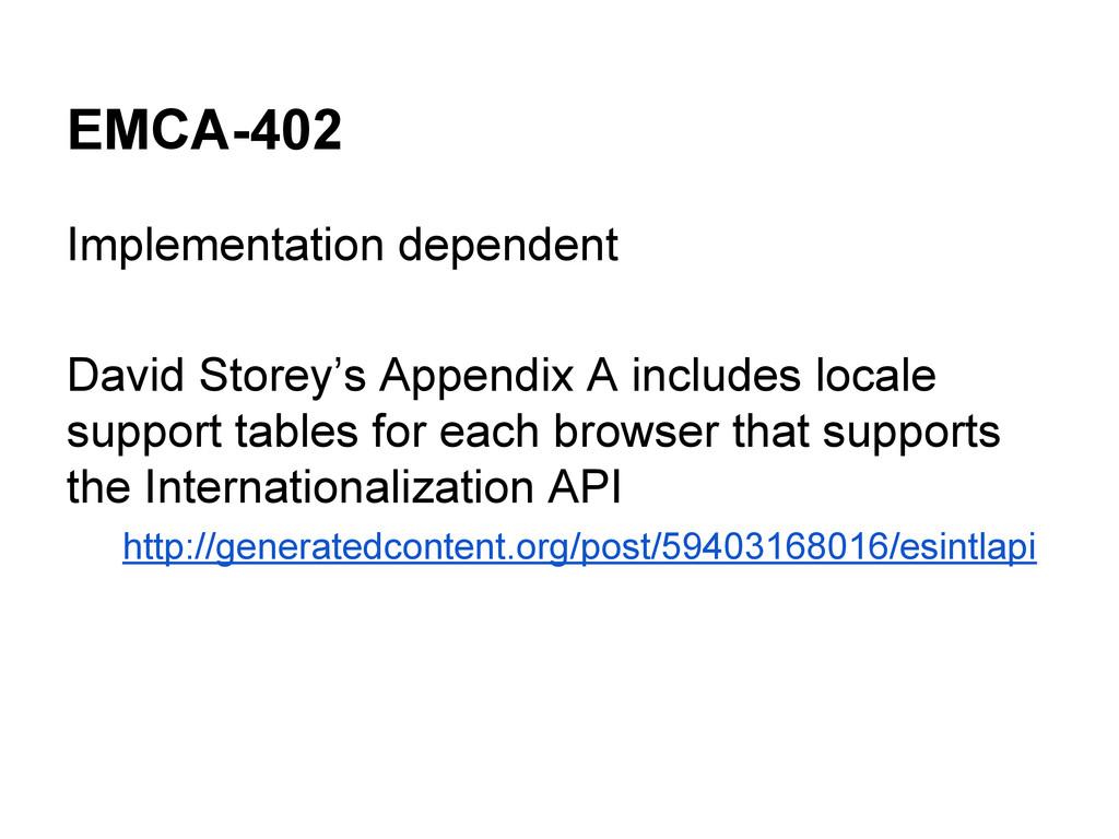 EMCA-402 Implementation dependent David Storey'...