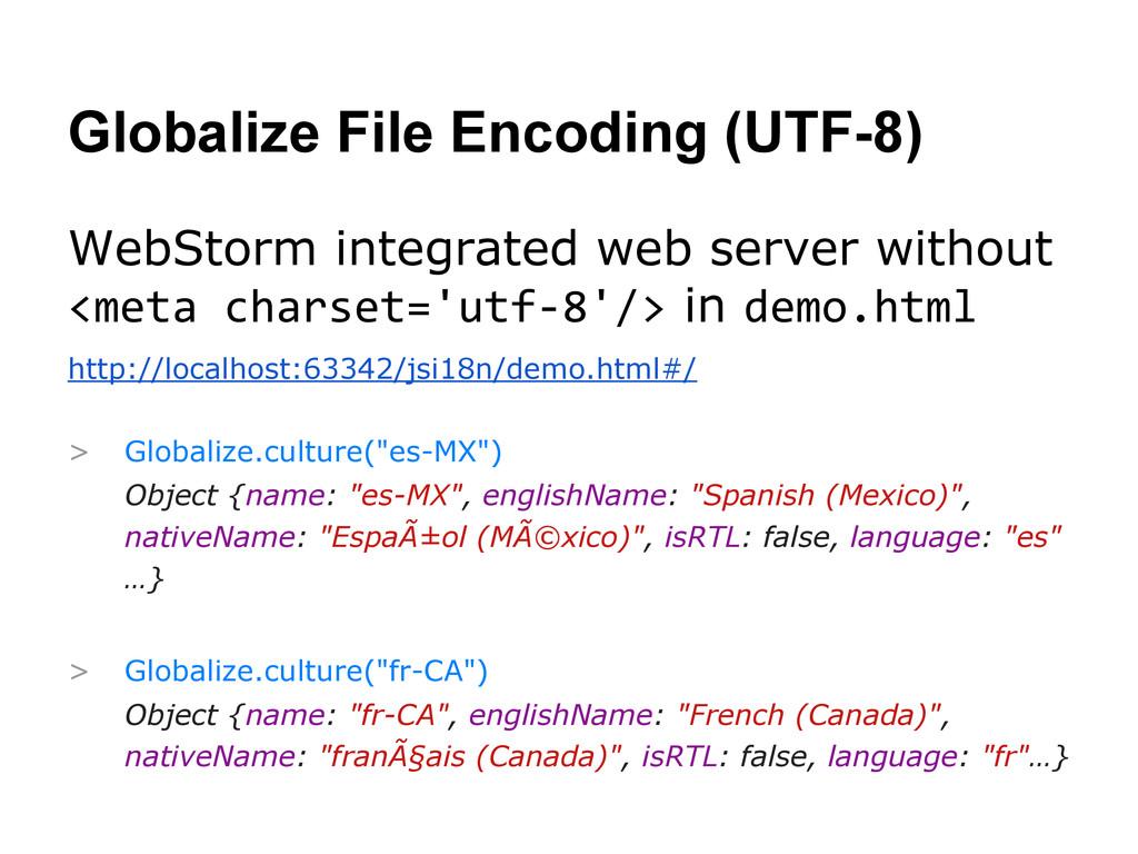 Globalize File Encoding (UTF-8) WebStorm integr...