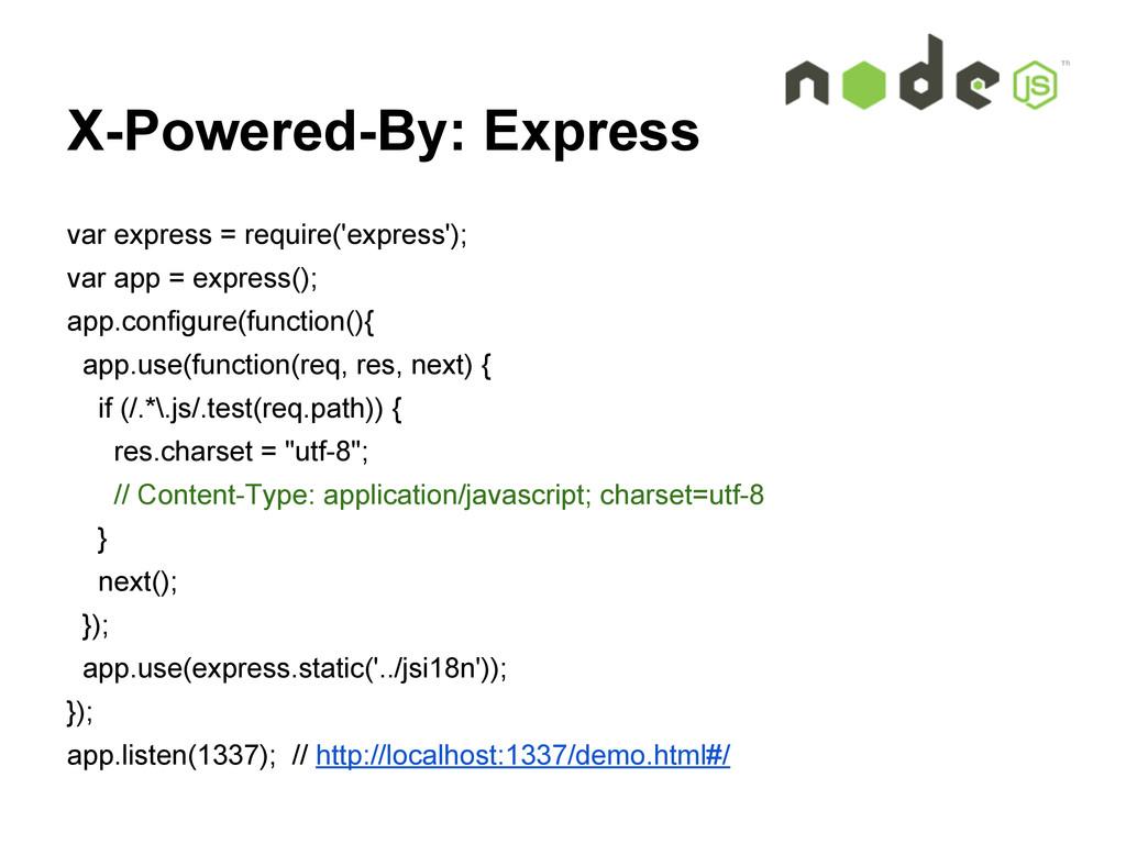 X-Powered-By: Express var express = require('ex...