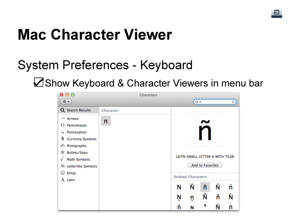 Mac Character Viewer System Preferences - Keybo...
