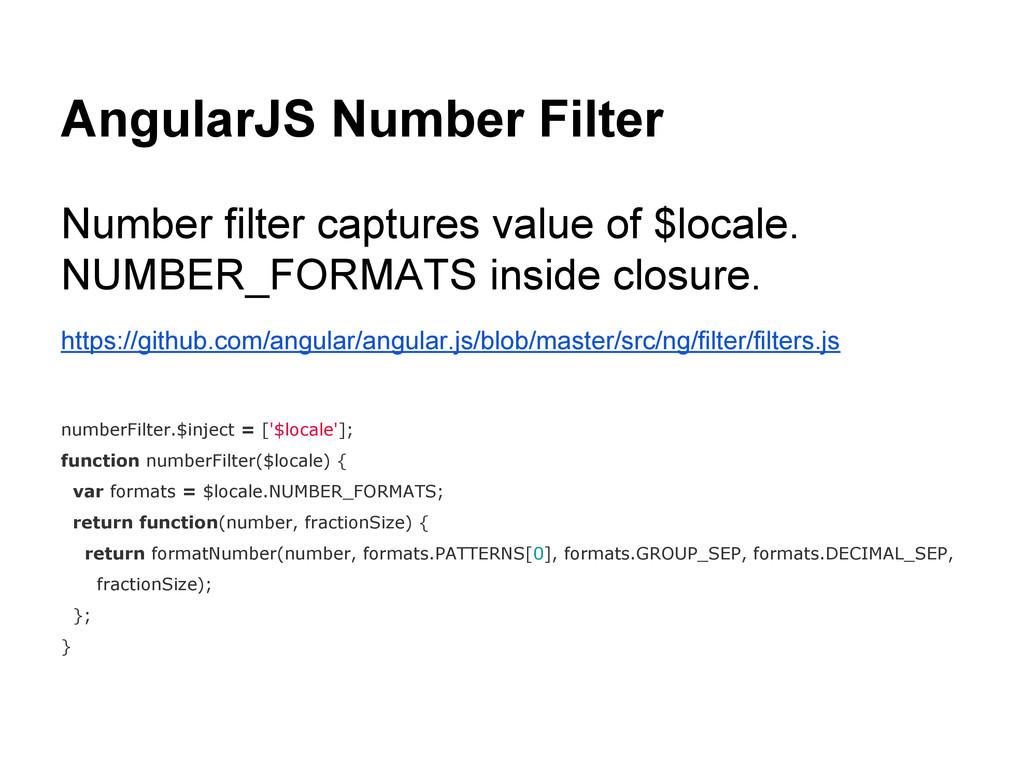AngularJS Number Filter Number filter captures ...