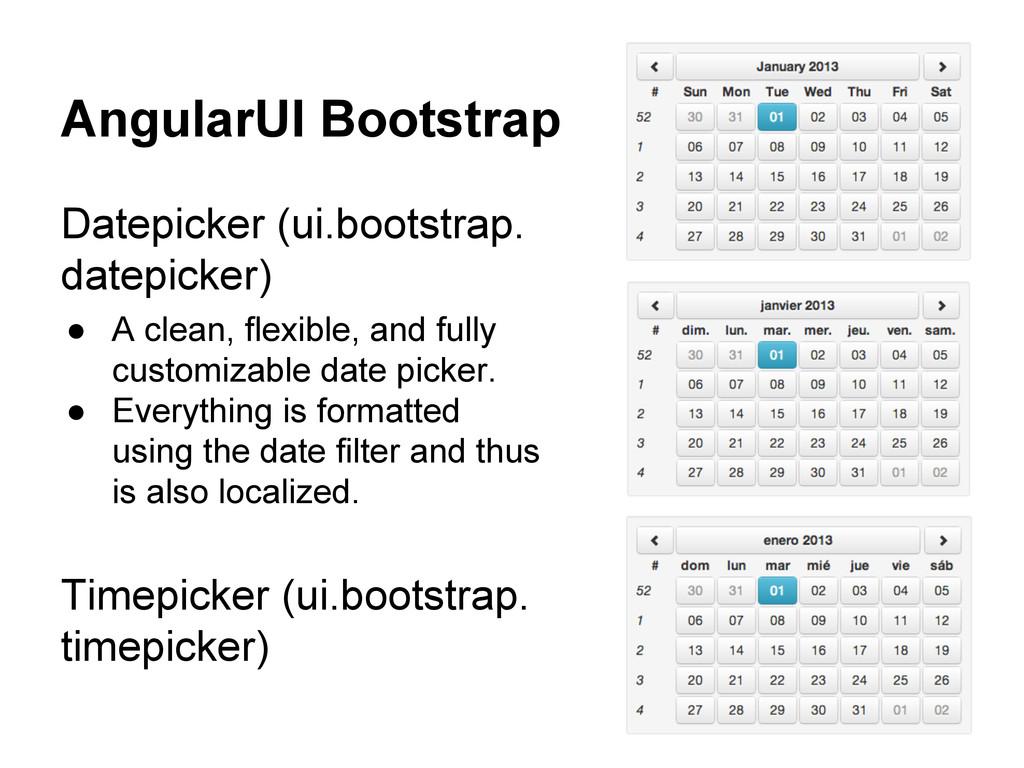 AngularUI Bootstrap Datepicker (ui.bootstrap. d...