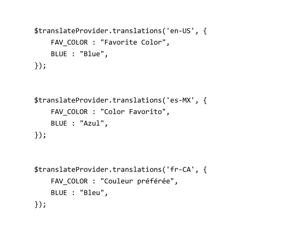 $translateProvider.translations('en-US', { FAV_...