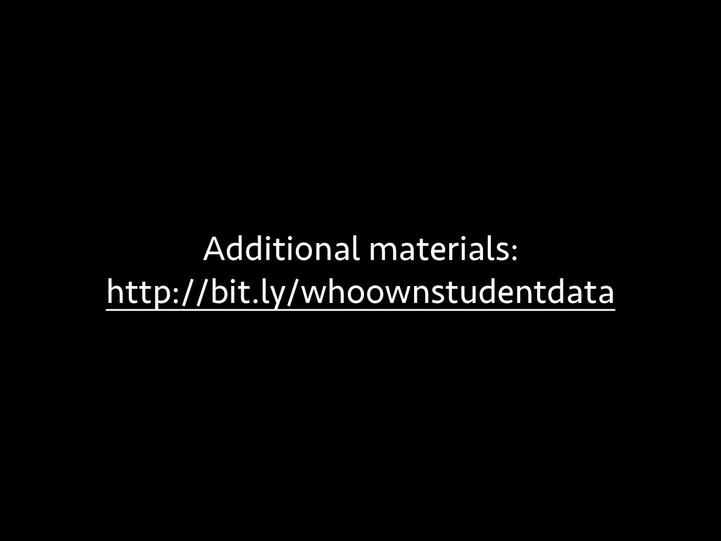 Additional materials: http://bit.ly/whoownstude...