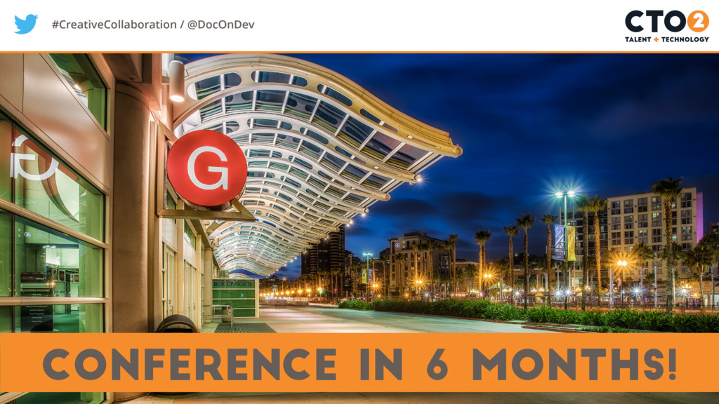 #CreativeCollaboration / @DocOnDev conference i...