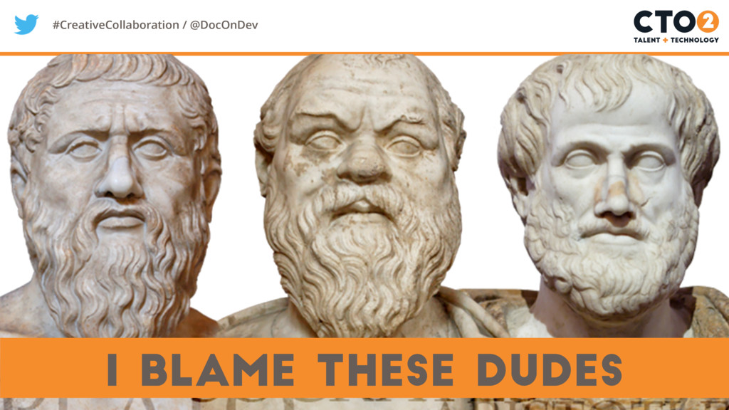 #CreativeCollaboration / @DocOnDev I blame thes...
